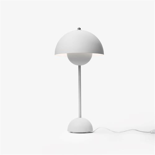 VP3 Bordlampe Lys Grå