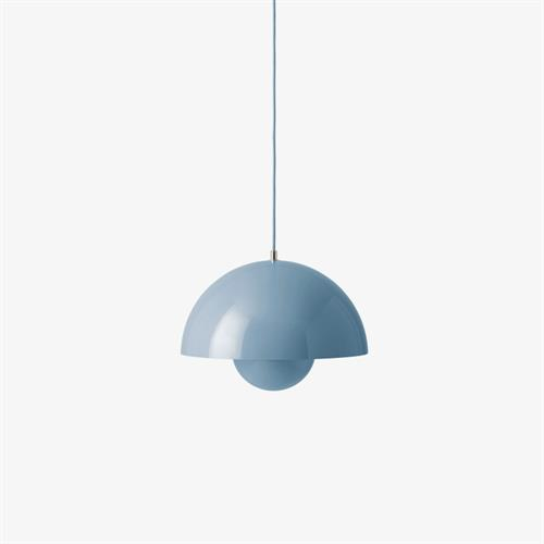 VP7 Pendel FlowerPot Light Blue