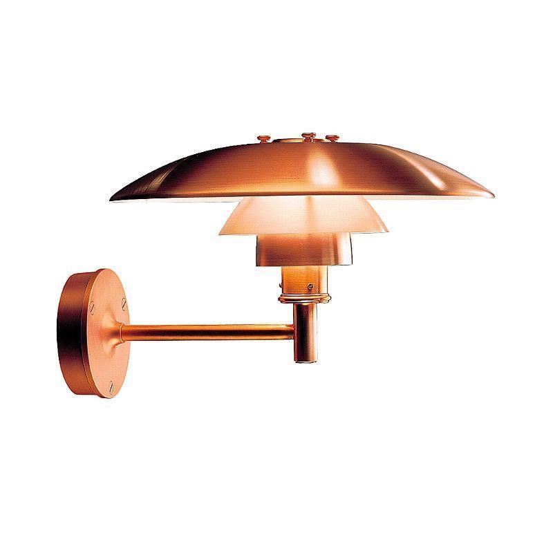 PH V u00e6g Kobber lampe fra PH til udendors brug