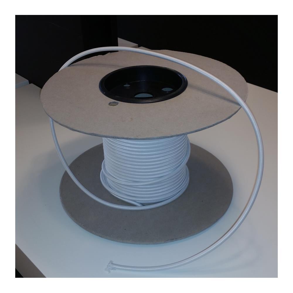 Ungdommelige Original stofledning hvid til PH lamper ML18