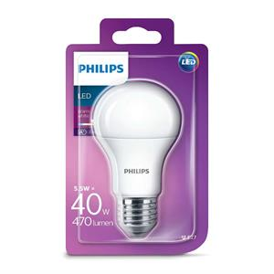 Philips LED Standard E27 - 5,5W