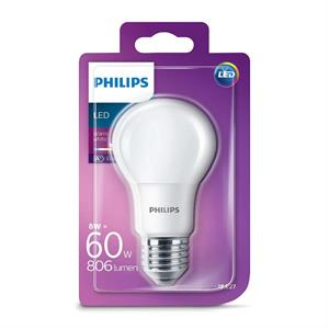 Philips LED Standard E27 - 8W