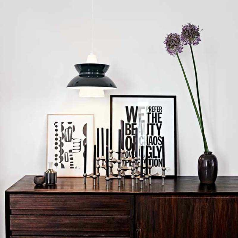 doo wop pendel fra fra louis poulsen k b doo wop lamper her. Black Bedroom Furniture Sets. Home Design Ideas