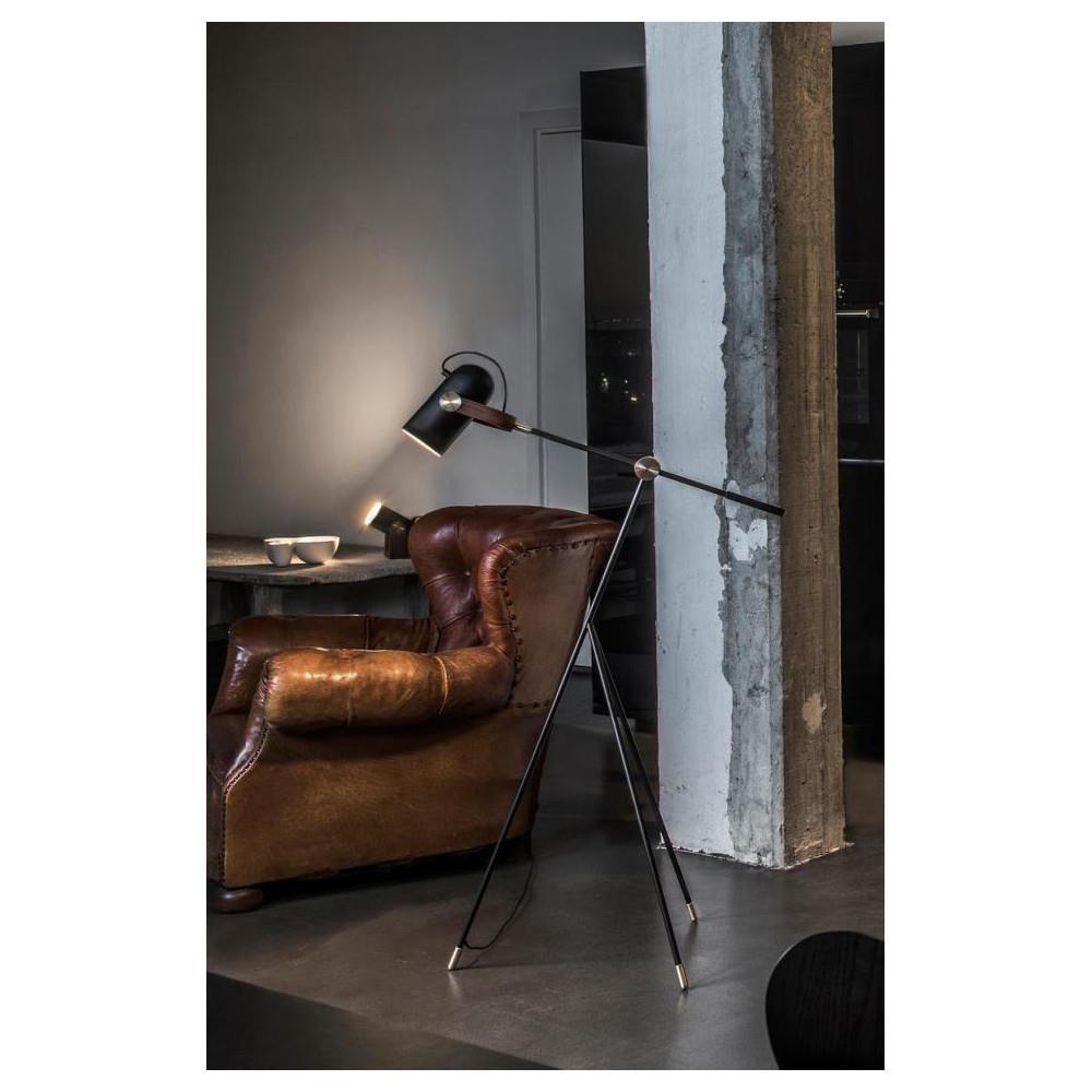 Carronade gulv læselampe 360SB sort - Le Klint
