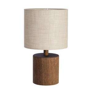 wood bordlampe