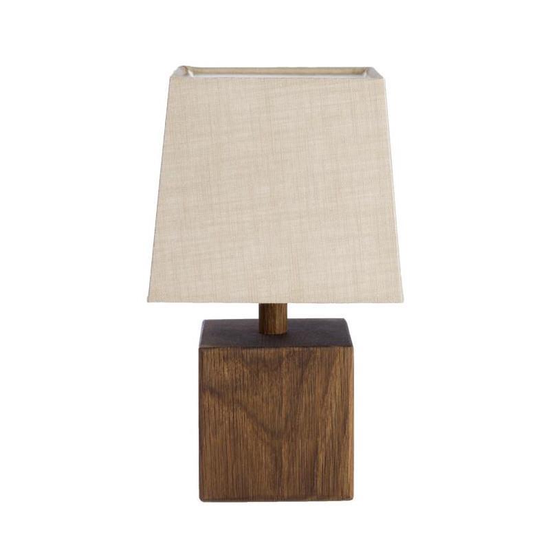 Avanceret Wood bordlampe fra KS GH42